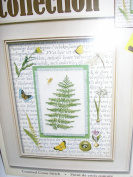 Leisure Arts Nature Collection Woodland Fern Counted Cross Stitch Kit