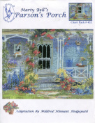 Marty Bell's Parson's Porch Counted Cross Stitch Chart Pack #432