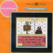 Right Back - Beaded Counted Cross Stitch Kit - CG302103