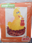 Sesame Street Needlecraft Kit ~ Big Bird ~ 13cm X 18cm