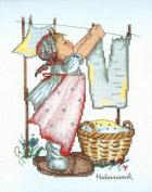 Wash Day - Hummel Cross Stitch Kit