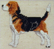 Pegasus Originals Beagle Counted Cross Stitch Kit Full Body