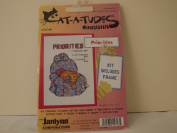 "CAT-A-TUDES NEEDLEPOINT KIT BY JANLYNN ""PRIORITIES"""