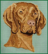 Pegasus Originals Vizsla Counted Cross Stitch Kit