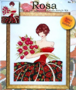 Design Works 'ROSA' Cross Stitch Kit