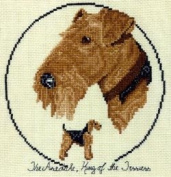 Pegasus Originals Airedale Terrier Counted Cross Stitch Kit