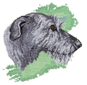 Pegasus Originals Irish Wolfhound Counted Cross Stitch Kit