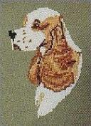 Pegasus Originals Cocker Spaniel Counted Cross Stitch Kit