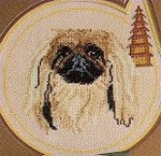 Pegasus Originals Pekingese Counted Cross Stitch Kit