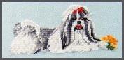 Pegasus Originals Shih Tzu Counted Cross Stitch Kit