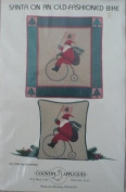 Santa on an Old-Fashioned Bike by Jan Kornfeind - Collectors Choice Olde Santa Series