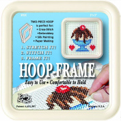 Easy Street Crafts SF55C Square Hoop Embroidery Frame, Cream