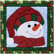 Quilt Magic 30cm by 30cm Snowman Kit