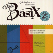 X-Blocks BasiX Tool Quilting Template Ruler by Quilt Queen Designs ~ 13cm Template