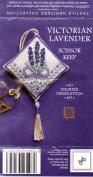Textile Heritage Scissor Keep Cross Stitch Kit - Victorian Lavender