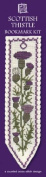 Textile Heritage Scottish Thistle Counted Cross Stitch Bookmark Kit