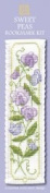 Textile Heritage Sweet Peas Counted Cross Stitch Bookmark Kit