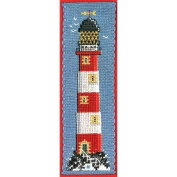 Textile Heritage Counted Cross Stitch Bookmark Kit - Lighthouse