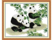 Happy Forever Cross Stitch, animal, The panda