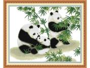 Happy Forever Cross Stitch, animal, The panda