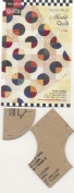 Come Quilt with Me Template - Marblel Quilt 10cm Block