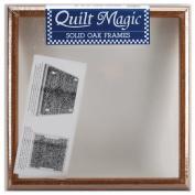 Quilt Magic 30cm by 30cm Oak Frame