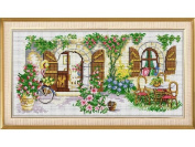 Happy Forever Cross Stitch, The scenery ,The ideal house