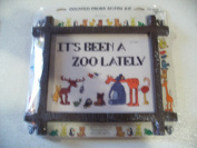 It's Been a Zoo Lately Counted Cross Stitch Kit
