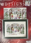 1977 Winter Window from Designs For The Needle