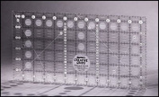 CGR Creative Grids Non-Slip Ruler 17cm x 32cm