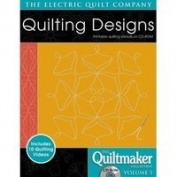 Electric Quilt Quiltmaker Volume 5 Printable Quilting Stencils on CD-ROM