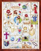Tobin Inspirational ABC Counted Cross Stitch Kit