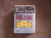 MCG Textiles Welcome Rug Yarn Punch Needle Kit