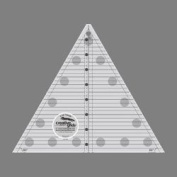 Creative Grids 60 Degree Triangle (Finished Size Up to 20cm ) Quilting Ruler