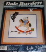 Dale Burdett Boy's Rocking Horse Counted Cross Stitch Kit