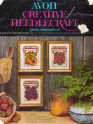 Avon Creative Needlecraft First Prize at the County Fair Crewel Embroidery Pictures Kit