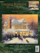 Thomas Kinkade Victorian Christmas II - Embellished Cross Stitch