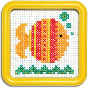 Easystreet Little Folks Gold Fish Counted Cross-Stitch Kit