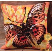 Collection D'art Flamme Pillow Cross Stitch Kit 15 3/4'X15 3/4'