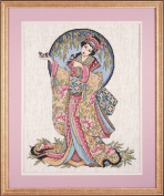Design Works Counted Cross Stitch kit - Oriental Grace