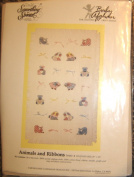 Candamar 'Something Special' Baby Afghan Counted Cross Stitch Kit