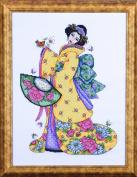 Design Works Counted Cross Stitch kit - Golden Geisha