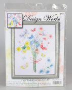 Design Works Counted Cross Stitch kit - Butterfly Bunch