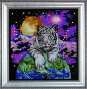 Design Works Counted Cross Stitch kit - Tiger Of The Heavens