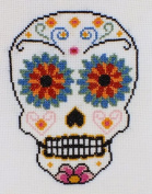 Sugar Skull Counted Cross Stitch Kit