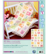 Dimensions Needlecrafts Counted Cross Stitch, ABC Afghan