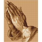 Luca S Praying Hands Cross Stitch Kit