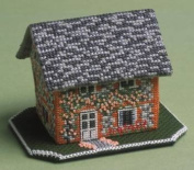 The Nutmeg Company Keepers Cottage 3D Cross Stitch Kit