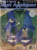 Dimensions Fashion Art Felt & Fabric Vest Appliques Kit #80370 Winter Evening