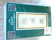 The Craft Collection Limited Set of 3 Tea Pot Counted Cross Stitch Kit